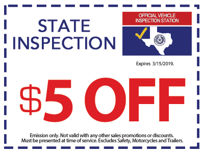 Texas Car Inspection >> State Inspection Coupon Kwik Kar Oil Change Automotive